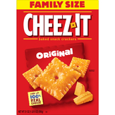 Cheez-it Baked Snack Crackers, Original, Family Size