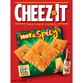 Cheez-it Hot & Spicy Baked Snack Crackers