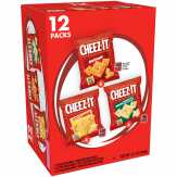 Cheez-it Original/white Cheddar/cheddar Jack Variety Pack Baked Snack Crackers