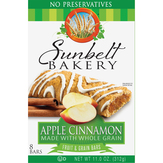 Sunbelt  Fruit And Grain Bar Apple Cinnamon
