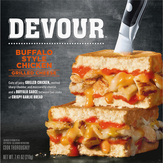 Devour Grilled Cheese Buffalo Chicken