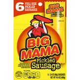 Big Mama Sausages, Pickled, Full Size
