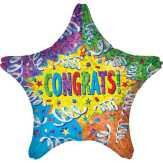 Food City Congrats Streamer Explosion Balloon