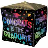 Food City Congrats To The Graduate Ombre Cube Balloon