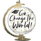Food City Go Change The World Globe Balloon