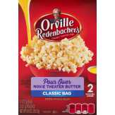 Orville Redenbacher       Double Feature Movie Theatre Butter...