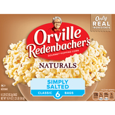 Orville Redenbacher's Popping Corn, Simply Salted, 6 Classic Bags