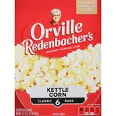 Orville Redenbacher's Popping Corn, Gourmet, Kettle Corn, Classic Bags