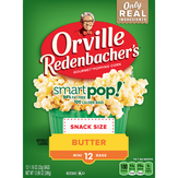 Orville Redenbacher                  Smart Pop! Butter Microwave Popcorn