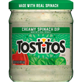 Tostitos Dip, Creamy Spinach