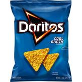 Doritos Doritos Cool Ranch Tortilla Chips 9.75 Ounce Plastic Bag Tortilla Chips