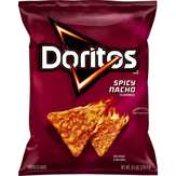 Doritos Doritos Spicy Nacho Flavored Tortilla Chips