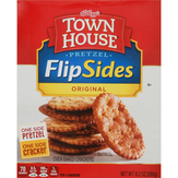 Town House Crackers, Oven Baked, Pretzel, Original