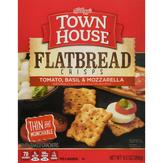Keebler Town House Flatbread Crisps Tomato Basil&mozzarella Crackers