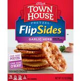 Town House Crackers, Oven Baked, Pretzel, Garlic Herb