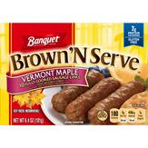 Banquet  Maple Brown N Serve Sausage Links