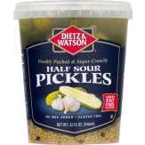 Dietz & Watson Half Sours, New