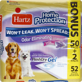 Hartz Home Protection Odor Eliminating/lavender­ - Regular Dog Pads