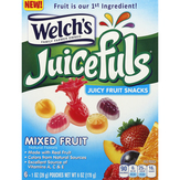 Welch's Fruit Snacks, Juicy, Mixed Fruit