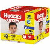 Huggies Snug & Dry Diapers, Size 6