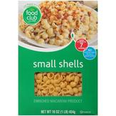 Food Club Small Shells