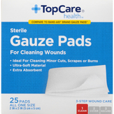 Topcare All One Size Sterile Gauze Pads