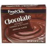 Food Club Chocolate Instant Pudding & Pie Fil...
