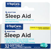 Topcare Maximum Strength Sleep-aid Softgels
