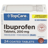 Topcare Ibuprofen 200 Mg, Coated Tablets