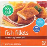 Food Club Crunchy Golden Fish Fillets