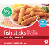Food Club Fish Sticks, 42 Ct.
