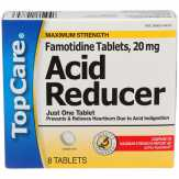 Topcare Maximum Strength, Tablets Acid Reducer
