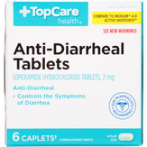 Topcare 2 Mg, Anti-diarrheal Tablets