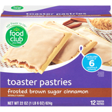 Food Club Frosted, Brown Sugar Cinnamon Toaster Pastries