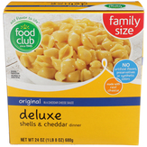 Food Club Family Size, Deluxe, Original Shell...
