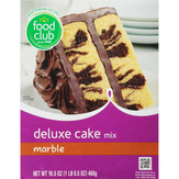 Food Club Deluxe, Marble Cake Mix
