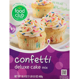 Food Club Deluxe, Confetti Cake Mix