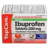 Topcare 200 Mg Ibuprofen Coated Tablets