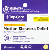 Topcare Less Drowsy Formula, 25 Mg, Tablets...