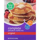 Food Club Complete Pancake & Waffle Mix