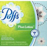 Puffs Plus Lotion White Facial Tissue