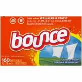 Bounce Bounce Fabric Softener Dryer Sheets Outdoor Fresh 160ct Fabric Enhancers