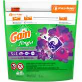 Gain Flings! Aroma Boost, Moonlight Breeze Laundry Detergent