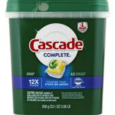 Cascade Complete Actionpacs Lemon Scent Dishwasher Detergent
