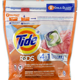 Tide + Detergent, April Fresh, 4 In 1 With Downy, Pacs