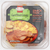Hormel Pepperoni With Cheese & Crackers Snack Tray