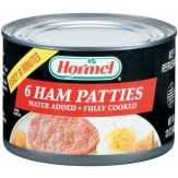 Hormel Patties Fully Cooked 6 Ct Ham