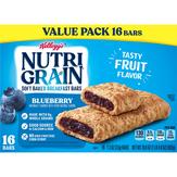 Kellogg's Breakfast Bars, Soft Baked, Blueberry, Value Pack