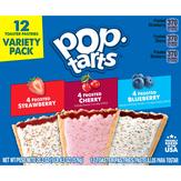 Pop Tarts Toaster Pastries, Variety Pack