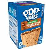 Pop-tarts Toaster Pastries, Brown Sugar Cinnamon, Unfrosted